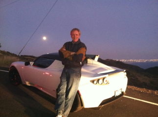 Mike Maloney Tesla Roadster