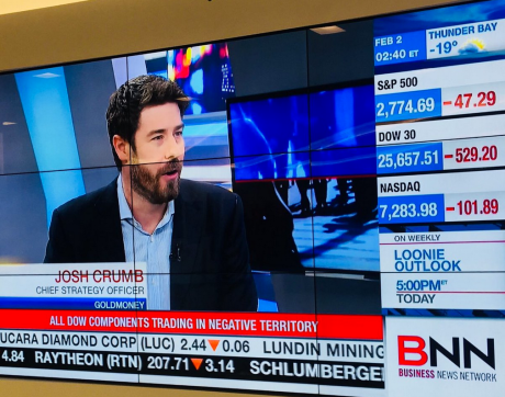 Josh Crumb with BNN Feb. 2018